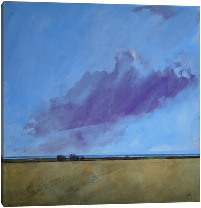Distant River Canvas Art Print