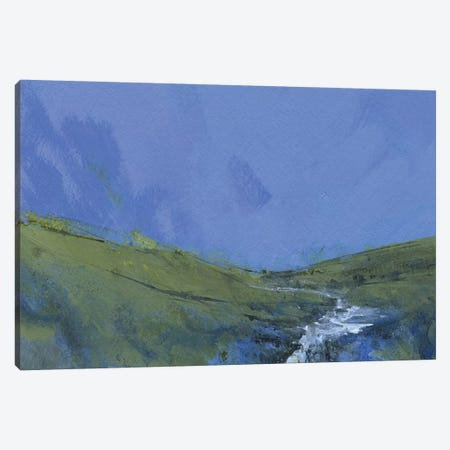 Afon Claerwen Canvas Print #PBA14} by Paul Bailey Canvas Art Print