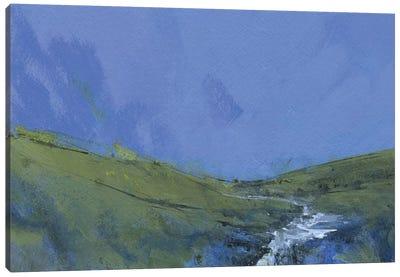 Afon Claerwen Canvas Art Print