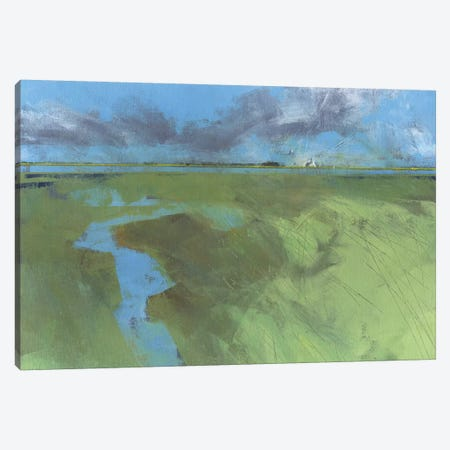 Back Water High Tide Canvas Print #PBA15} by Paul Bailey Art Print