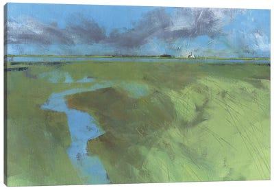 Back Water High Tide Canvas Art Print