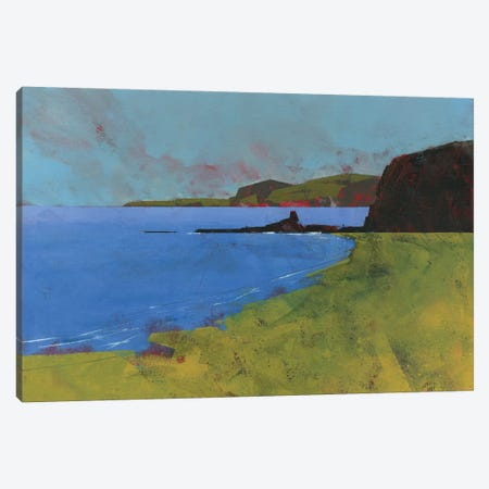 Ceredigion Cliffs Canvas Print #PBA16} by Paul Bailey Art Print