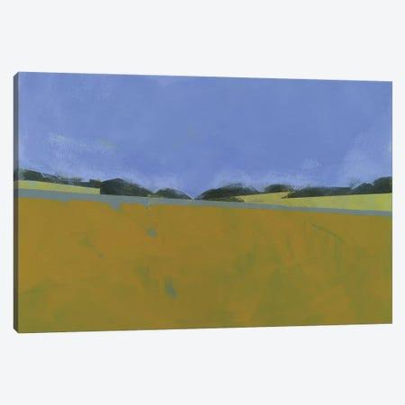 Distant Flax Canvas Print #PBA18} by Paul Bailey Canvas Artwork