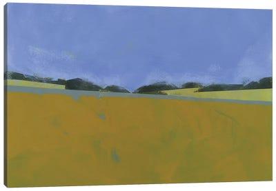 Distant Flax Canvas Art Print