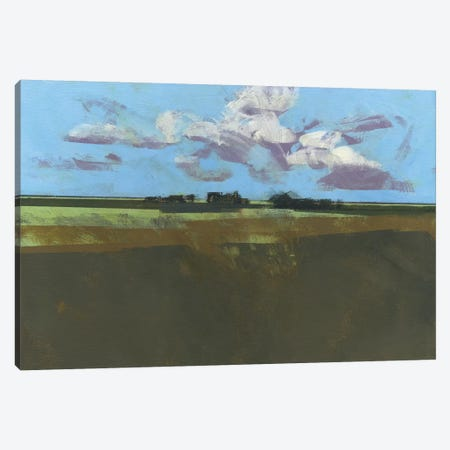Early December Fields Canvas Print #PBA19} by Paul Bailey Canvas Art