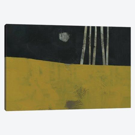 Five Trunks and The Moon Canvas Print #PBA22} by Paul Bailey Canvas Art Print