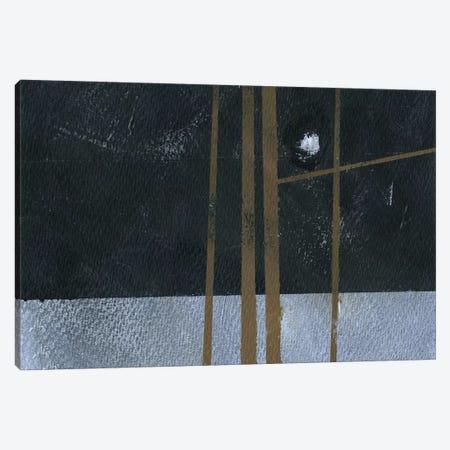 Four Trees and The Moon I Canvas Print #PBA24} by Paul Bailey Canvas Wall Art