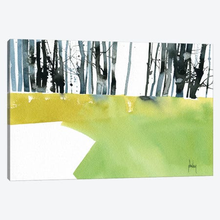 Barcode Wood Canvas Print #PBA2} by Paul Bailey Canvas Art Print