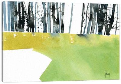 Barcode Wood Canvas Art Print