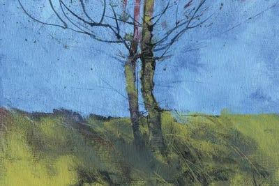 heathland tree study canvas artwork by paul bailey icanvas