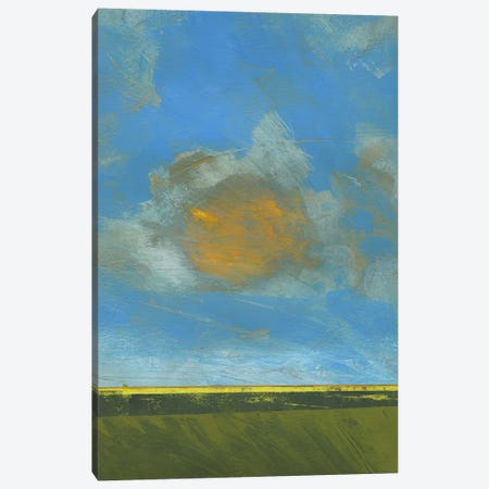 June Sky Canvas Print #PBA32} by Paul Bailey Canvas Wall Art