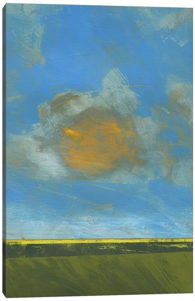 June Sky Canvas Art Print