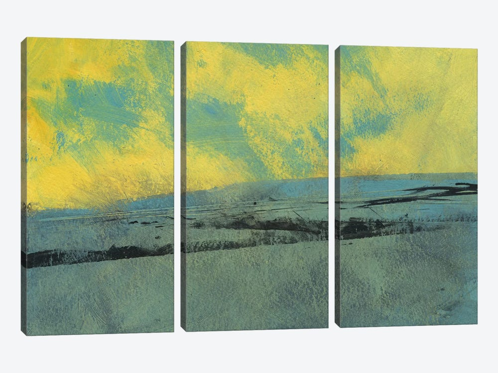Pale Morning Light by Paul Bailey 3-piece Canvas Wall Art