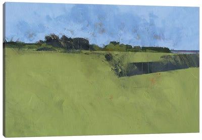 Riverfront Trees Canvas Art Print