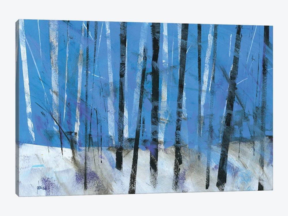 Birch & Black Ash Saplings by Paul Bailey 1-piece Canvas Art