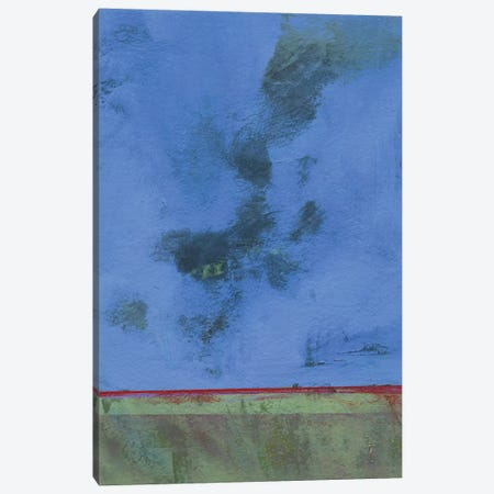 Twilight Over Red Marsh Canvas Print #PBA43} by Paul Bailey Art Print
