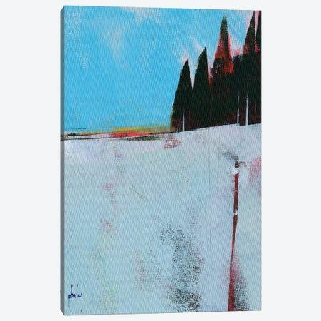Snow Field Canvas Print #PBA45} by Paul Bailey Canvas Wall Art