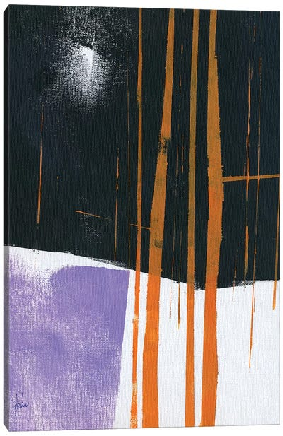 Thicket Moonlight Canvas Art Print