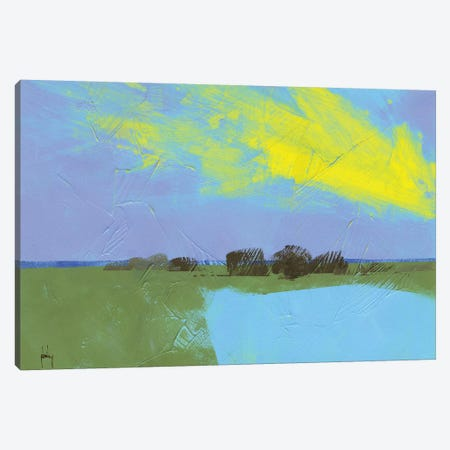 Decoy Pond Canvas Print #PBA4} by Paul Bailey Canvas Wall Art