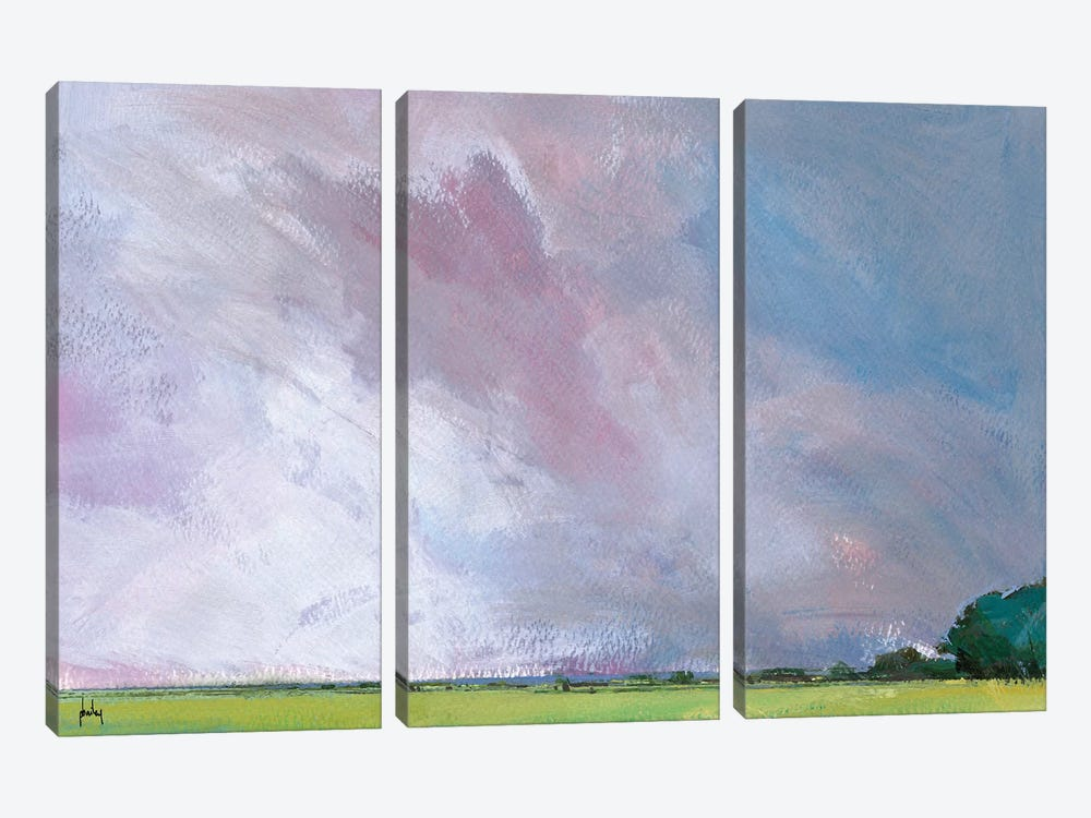 Sky Six Temperance by Paul Bailey 3-piece Canvas Art Print