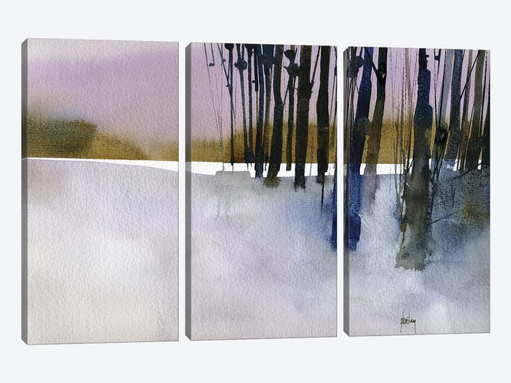 Standing By by Paul Bailey 3-piece Canvas Artwork