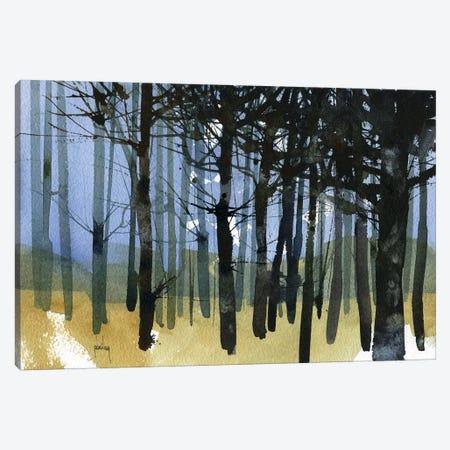 Tangle Knot Wood Canvas Print #PBA8} by Paul Bailey Art Print