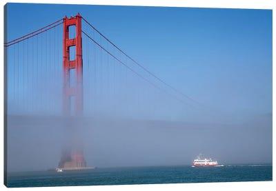 Foggy Afternoon I, Golden Gate Bridge, California, USA  Canvas Art Print