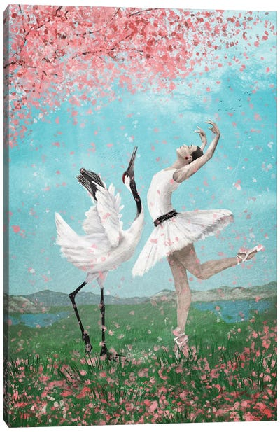 Dancing Like No Other Canvas Art Print