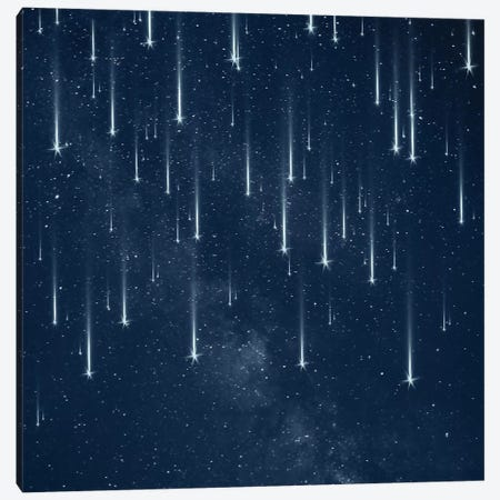 Falling Stars Canvas Print #PBF11} by Paula Belle Flores Canvas Art Print