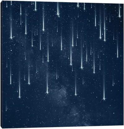 Falling Stars Canvas Art Print