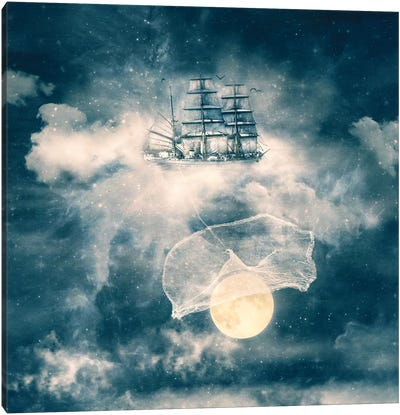 I Am Gonna Bring You The Moon Canvas Art Print