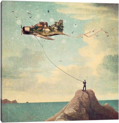Kite Day Canvas Art Print
