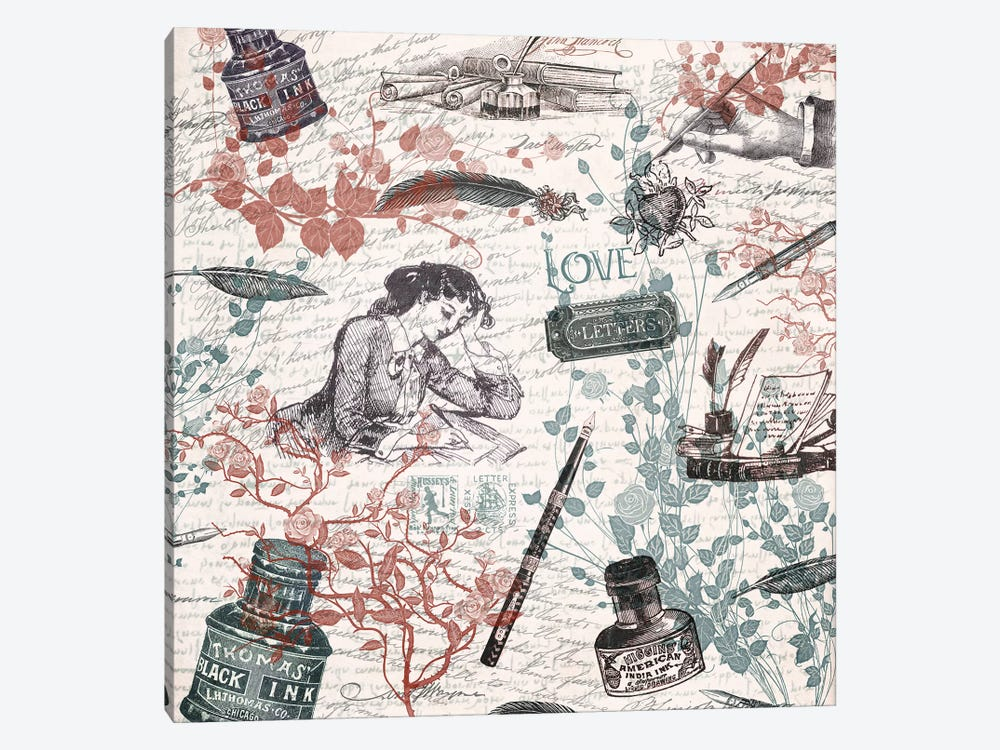 Love Letters by Paula Belle Flores 1-piece Art Print