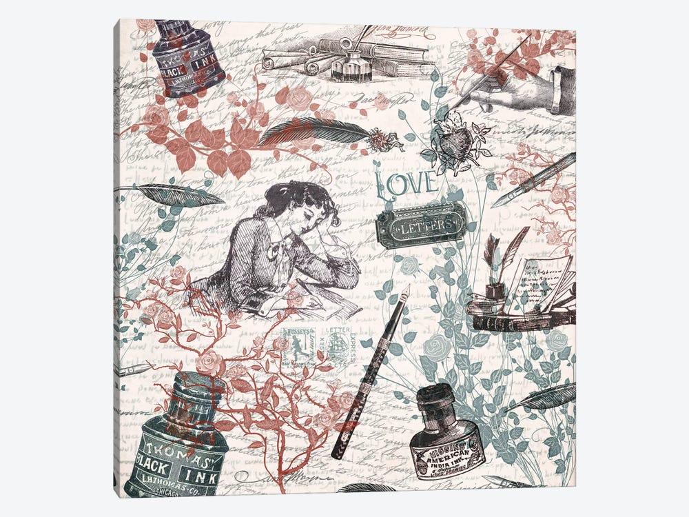 Love Letters by Paula Belle Flores 1-piece Art Print