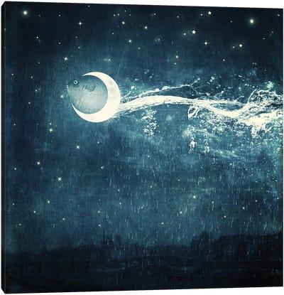 Moonriver Canvas Art Print