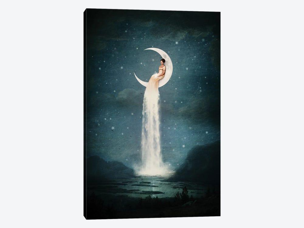 Moonriver Lady by Paula Belle Flores 1-piece Art Print