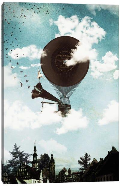 Music Flight Canvas Art Print