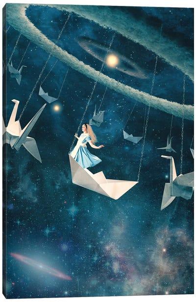 My Favourite Swing Ride Canvas Art Print