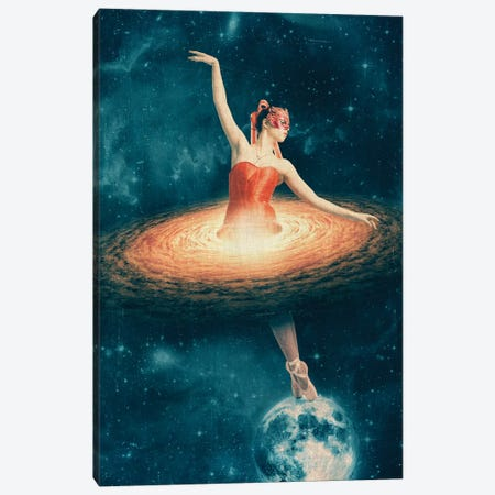 Prima Ballerina Assoluta Canvas Print #PBF42} by Paula Belle Flores Canvas Wall Art