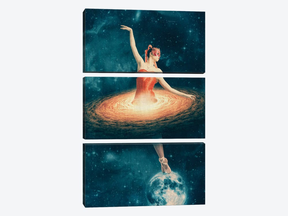 Prima Ballerina Assoluta 3-piece Canvas Wall Art