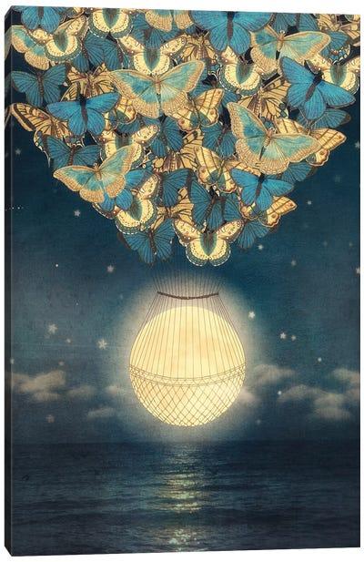 Rising Moon Canvas Art Print
