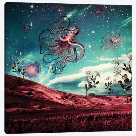 Sunrise Over The Purple Planet Canvas Print #PBF47} by Paula Belle Flores Canvas Art Print
