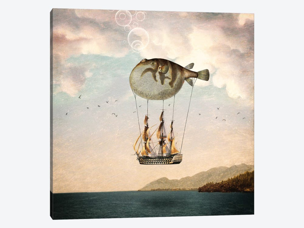 The Big Journey by Paula Belle Flores 1-piece Canvas Print