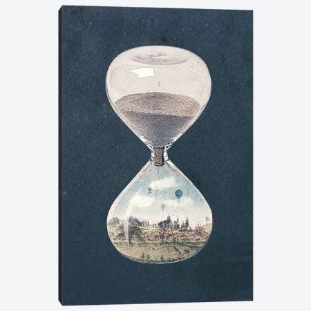 The City Where Time Had Stopped Long Ago Canvas Print #PBF51} by Paula Belle Flores Canvas Print