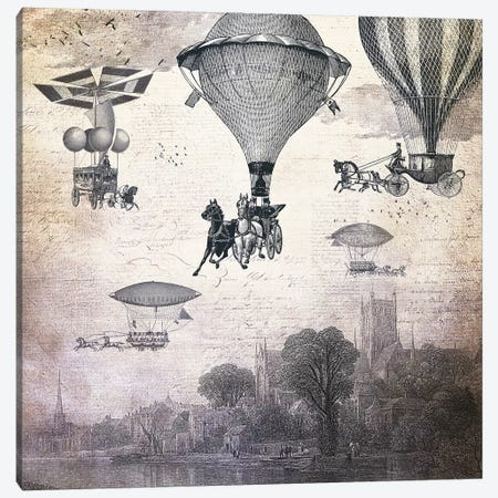 Carrilloons Over The City Canvas Print #PBF5} by Paula Belle Flores Canvas Print
