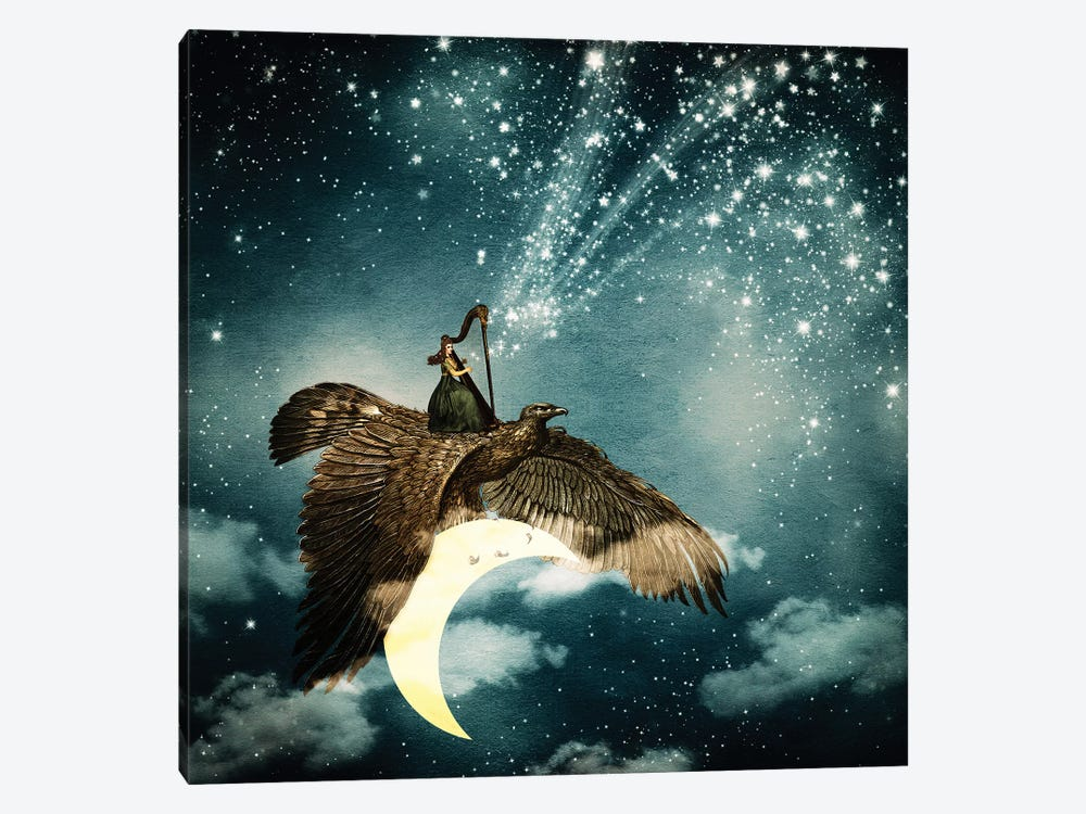 The Star Maker by Paula Belle Flores 1-piece Canvas Print