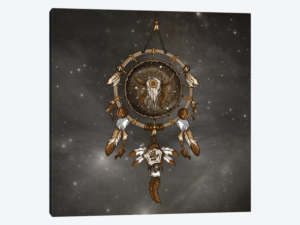 Dream Catcher by Paula Belle Flores 1-piece Art Print