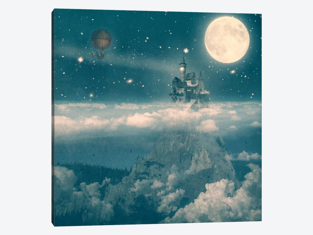 The Way Home by Paula Belle Flores 1-piece Canvas Art