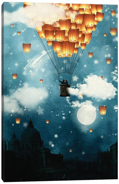 Where All The Wishes Come True Canvas Art Print