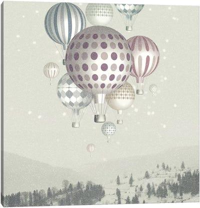 Winter Dreamflight Canvas Art Print